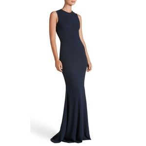 Dress the Population Eve Crepe Mermaid Gown
